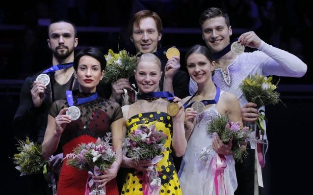 Евгения Тарасова и Владимир Морозов защитиха титлата си при спортните