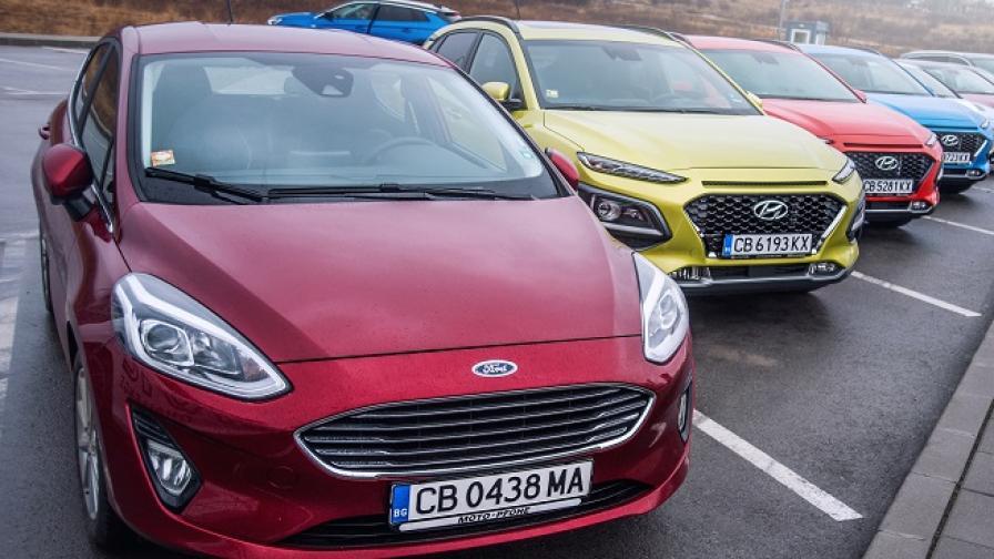 """Ford Fiesta e """"Автомобил на 2018 година в България"""""""