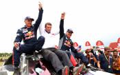 Карлос Сайнс спечели за втори път титлата при автомобилистите на Рали Дакар<strong> източник: Gulliver/GettyImages</strong>