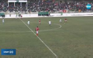 ЦСКА - Вихрен 2:0 (репортаж)