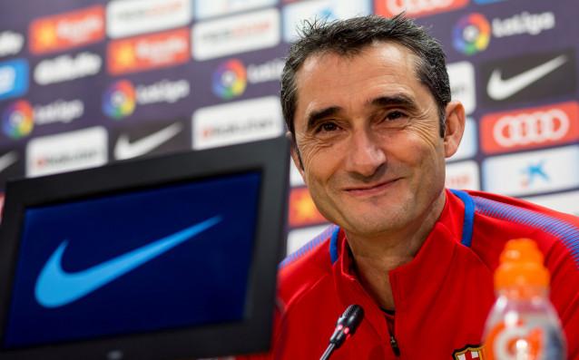 Наставникът на Барселона Ернесто Валверде посочи кой е приоритетът пред