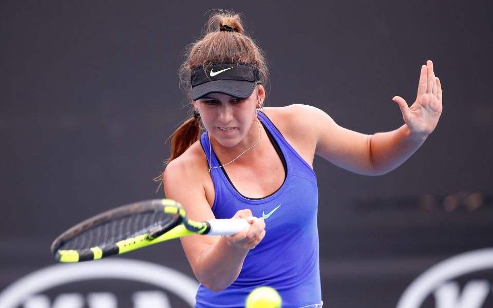 Топалова загуби само два гейма за четвъртфинал в Анталия