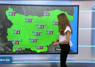 Прогноза за времето (21.01.2018 - обедна емисия)