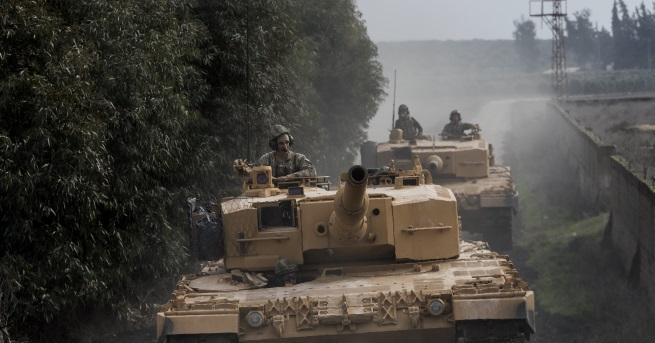 Турската армия и Свободната сирийска армия са навлезли 5 км