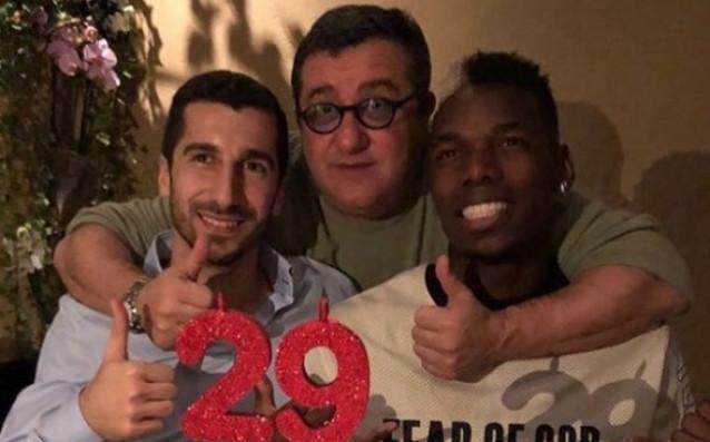 Хенрих Мхитарян посрещна рождения си ден в компанията на своя