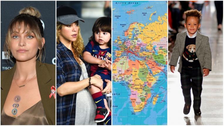 Име или географски атлас: Децата на звездите, кръстени на градове, щати и държави