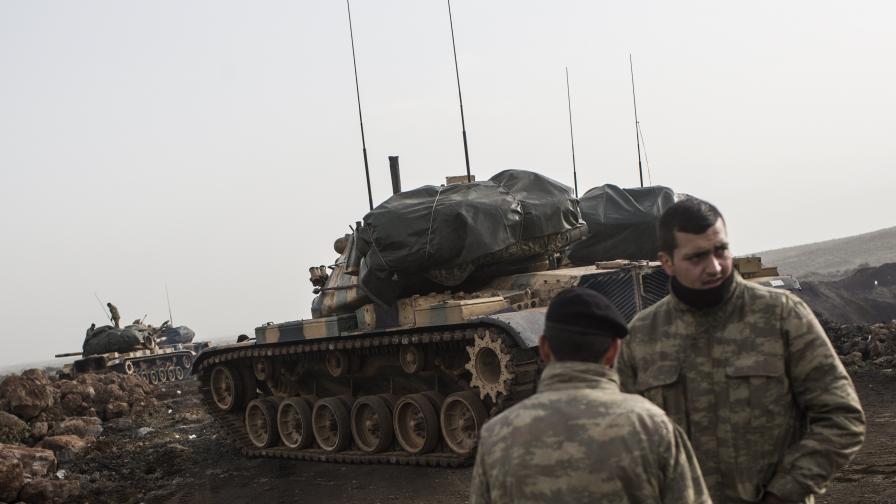 Ердоган готов да прочиства Сирия до Ирак