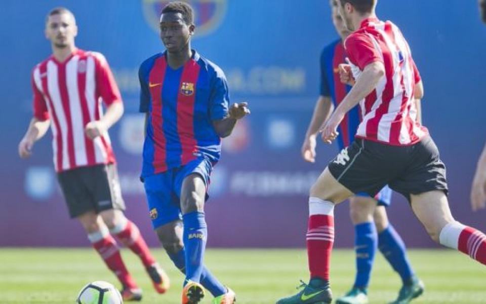 Етър привлече футболист на Барселона
