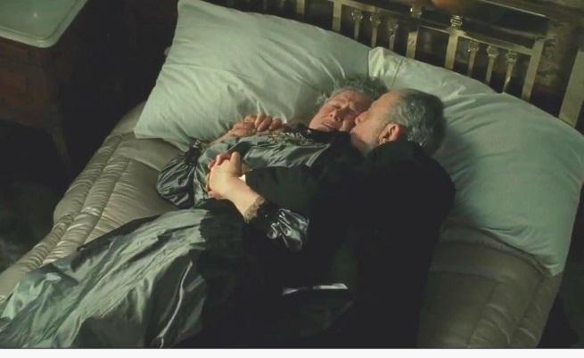 Любовната история на възрастната двойка от