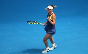 Возняцки се класира за полуфиналите на Австралия