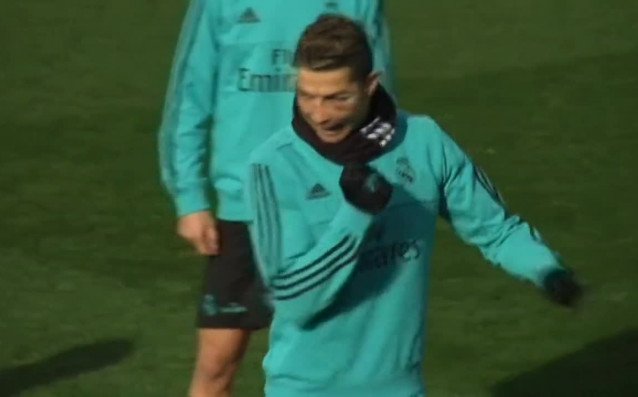 Капитанът на Реал Мадрид Серхио Рамос вече тренира на пълни