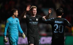 Ман Сити си поигра с Бристъл за първи финал за сезона