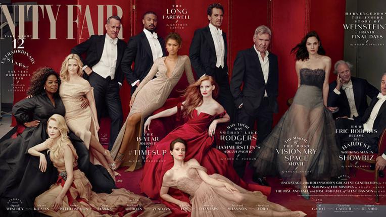 Огромен гаф на корицата на Vanity Fair - Рийз Уидърспун с три крака, а Опра - с три ръце!