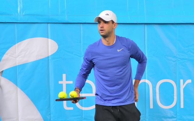 От турнира в Ротердам: Рамото е добре, нали, Григор Димитров?