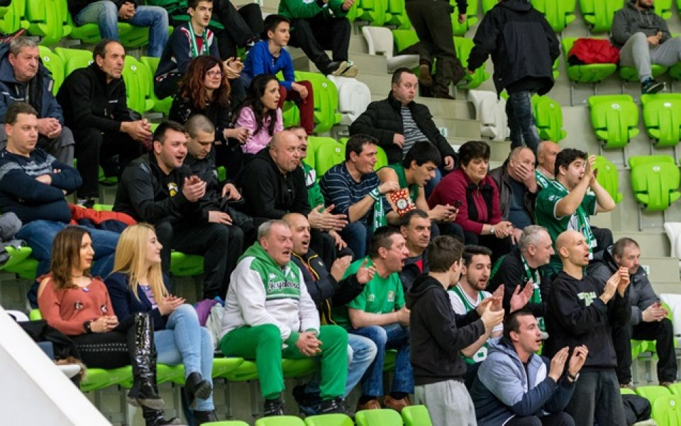 Левски обяви колко билети отпуска за гостите на дербито с Балкан