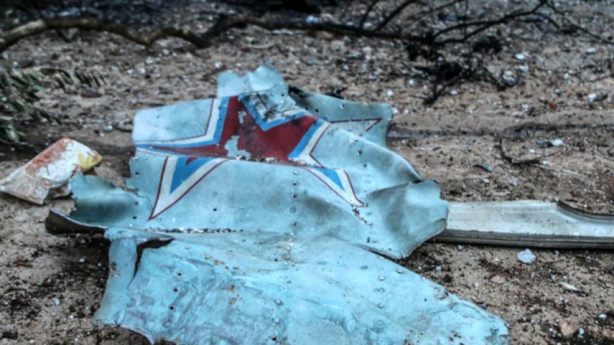 Заради убития пилот, Русия нанесе ответен удар на Сирия