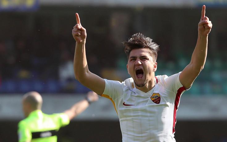Гол в 43-ата секунда стигна на Рома срещу Верона