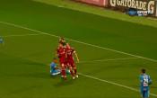 Нашсименто с дебютен гол за Левски, разписа се от бялата точка