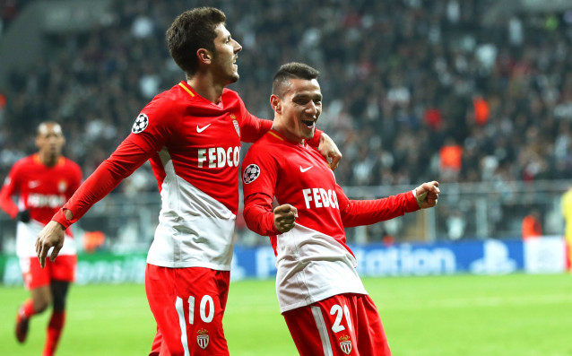 Монако разгроми Анже с 4:0 в мача от 25-ия кръг