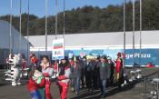 Издигнаха българското знаме в Пьонгчанг<strong> източник: bgolympic.org</strong>