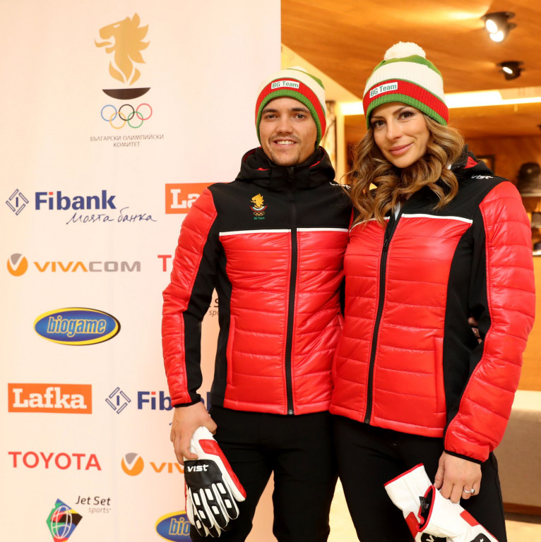 Александра Жекова и Алберт Попов<strong> източник: bgolympic.org</strong>