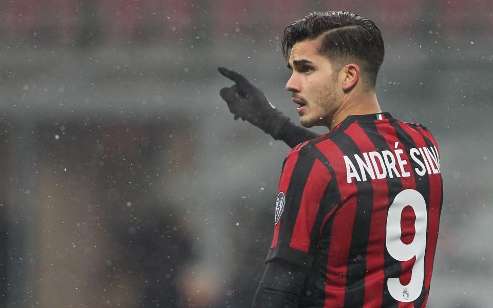 Калинич с контузия, Андре Силва ще води атаката на Милан в Разград