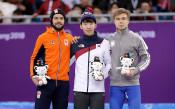 Първо злато за Южна Корея в Пьонгчанг, гарнирано и с рекорд
