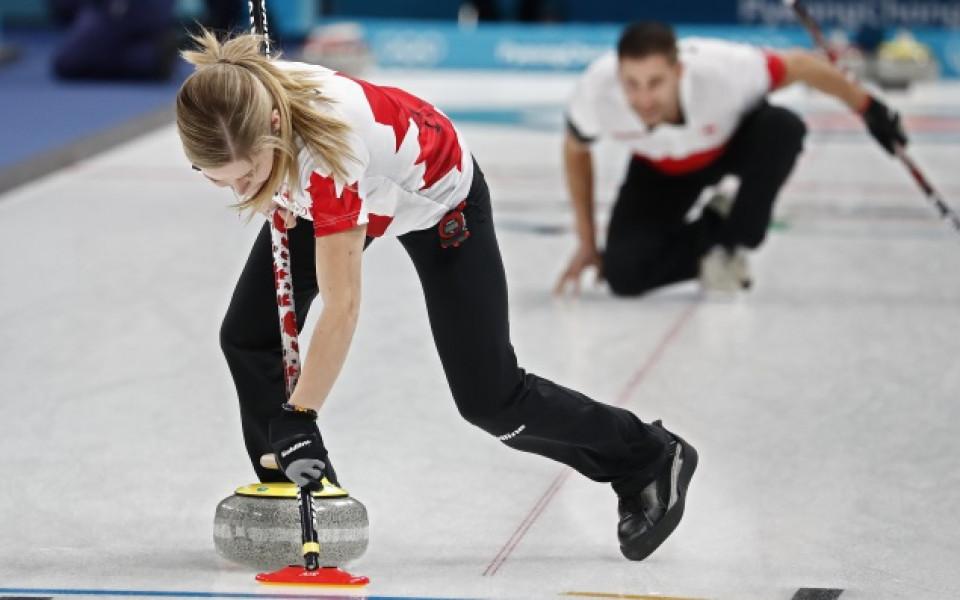 Канада взе златото в турнира по кърлинг за смесени отбори