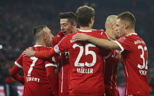 Шампионът на Германия Байерн Мюнхен продължи победния си ход в