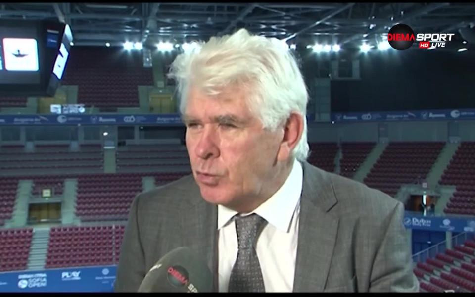 Пол Макнами е новият спортен директор на Българска федерация по тенис