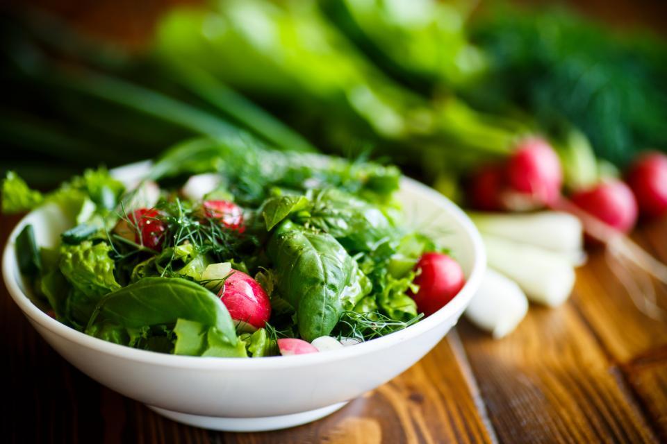 зелена салата салата