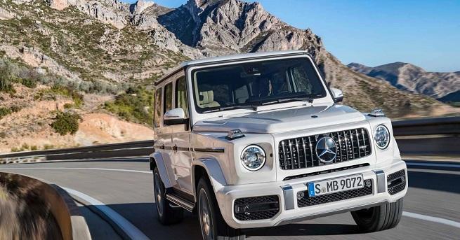 """Новият Mercedes-AMG G 63 е оборудван с 4,0-литров битурбо """"осмак"""""""