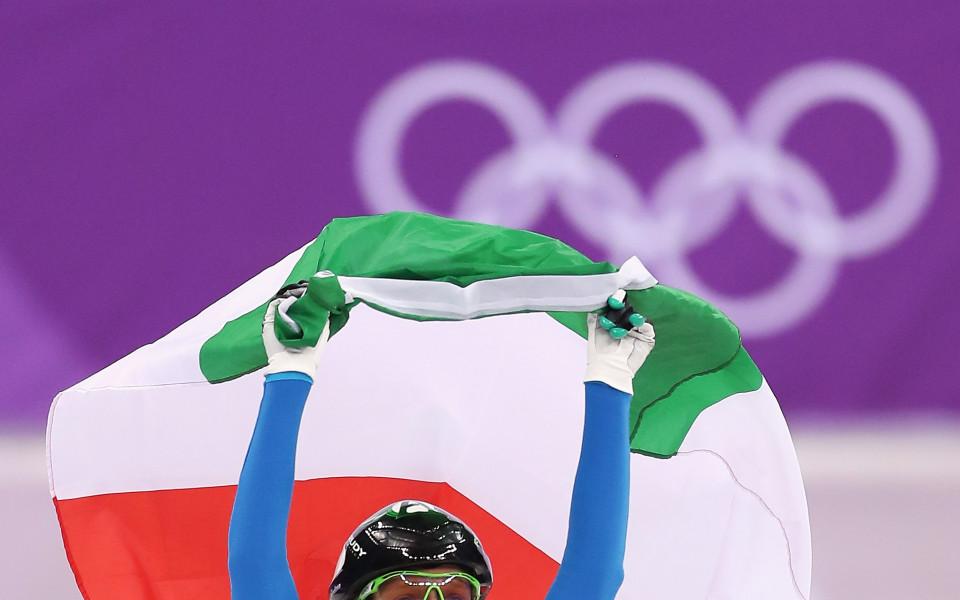 Ариана Фонтана най-сетне с олимпийско злато!