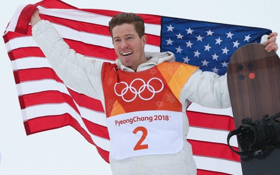 Американец с трета олимпийска титла  в сноуборда