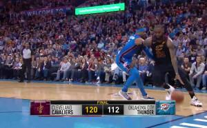 Кливланд с ценна победа над Оклахома в НБА