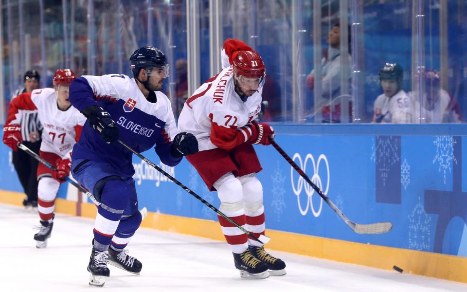 Сборная и САЩ с издънки на старта в хокея
