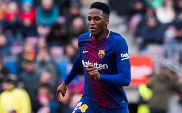 Йери Мина готов да напусне Барселона