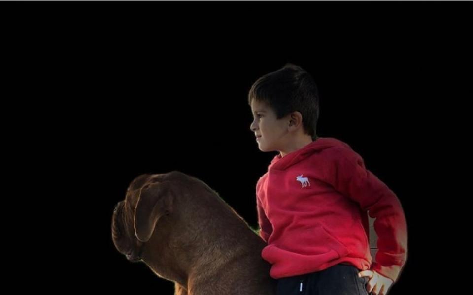 Гигантското куче на Меси, голямо почти колкото него
