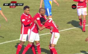 Верея - ЦСКА 0:2 /първо полувреме/