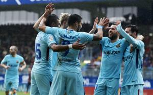 Барселона се върна към победите