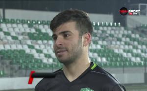 Педро Еуженио: Най-силният ми мач, откакто съм тук