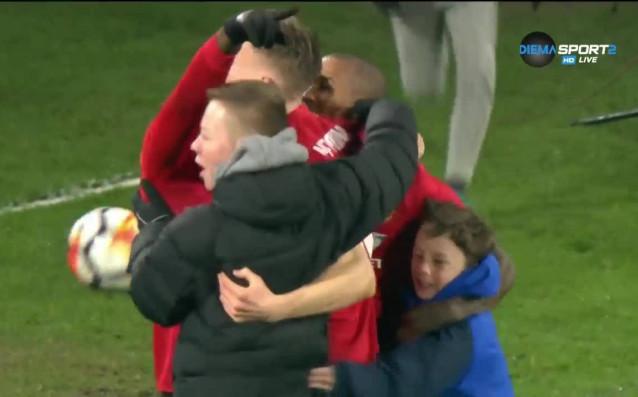 Най-интересните моменти от 1/8-финалния двубой между Хъдърсфийлд и Манчестър Юнайтед,