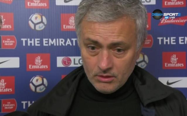 Наставникът на Манчестър Юнайтед Жозе Моуриньо коментира успеха на тима