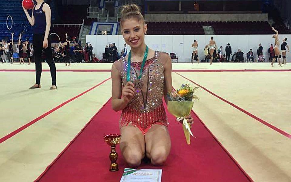 Ерика Зафирова се окичи с бронз в Москва