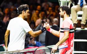 Федерер продължи с терора над Гришо, взе титлата в Ротердам