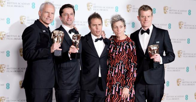 """Драмата на британския режисьор Мартин Макдона """"Три билборда извън града""""получи"""