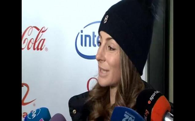 Най-добрата ни сноубордистка Александра Жекова се завърна на родна земя