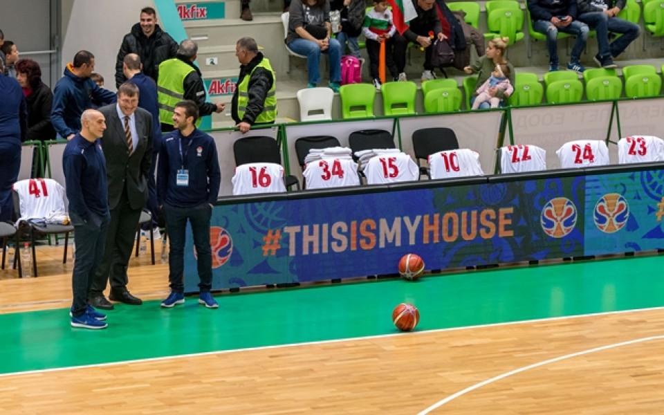 Баскетболистите започнаха подготовка за Чехия и Финландия