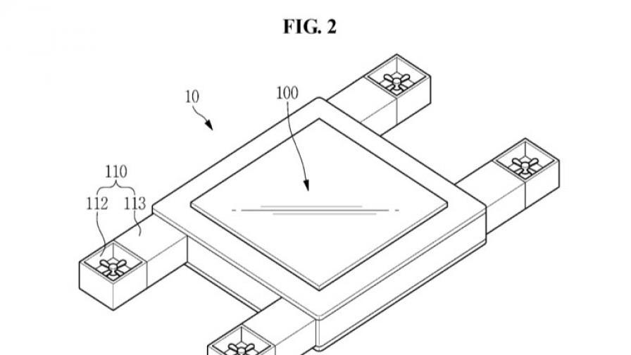 Samsung патентова летящ дисплей