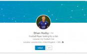 Футболист на Лестър си търси нов отбор в социалните мрежи